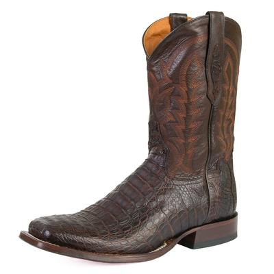 Tony Lama Men's 1911 Forrest Brown Hornback Boots