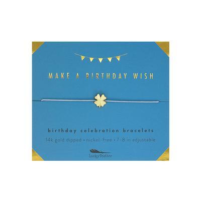 Lucky Feather's Birthday Wish Celebration Bracelet