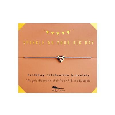 Lucky Feather's Sparkly Birthday Celebration Bracelet