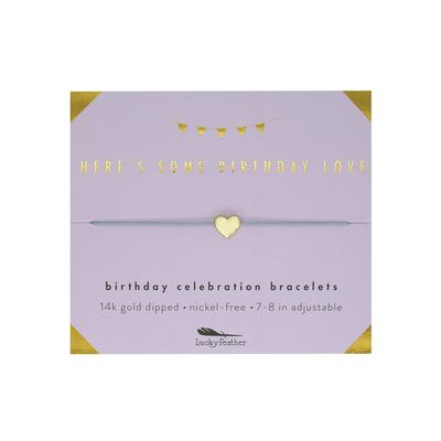 Lucky Feather's Some Birthday Love Celebration Bracelet