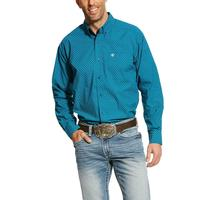 Ariat Men's Fluid Teal Banco Shirt