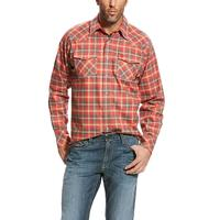 Ariat Men's FR Kenedy Retro Fit Work Shirt