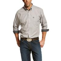 Ariat Men's Tan and Black Relentless Thrive Print Shirt