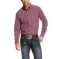 Ariat Men's Purple Dahlia Ashford Fitted Shirt