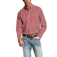 Ariat Men's Red Bardwell Print Shirt