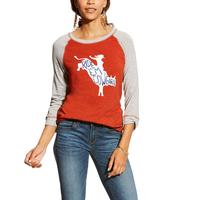 Ariat Women's Ride Em Graphic Top