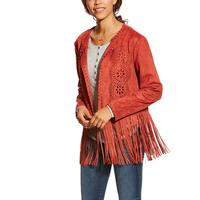 Ariat Women's Fireside Faux Suede Jacket