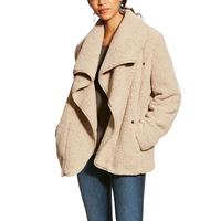 Ariat Women's Taupe Moonlit Shearling Coat