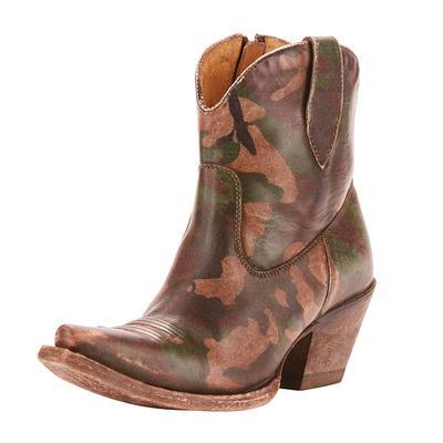 Ariat Women's Circuit Cruz Distressed Camo Ankle Boot