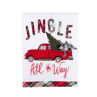 Jingle All The Way Tea Towel