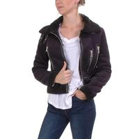 Black Tape Women's Sherpa Moto Jacket
