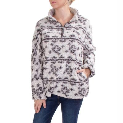 Dylan Women's Crosses Sherpa Pullover