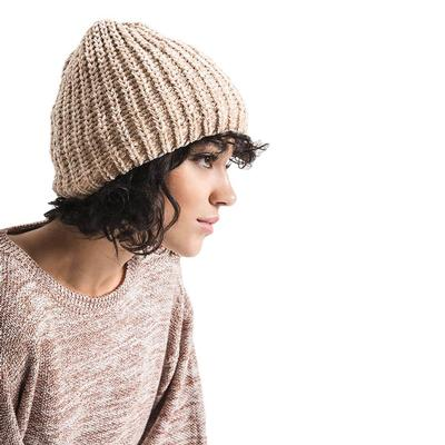Rag Poets Women's Jessica Beanie ANTIQUECREAM