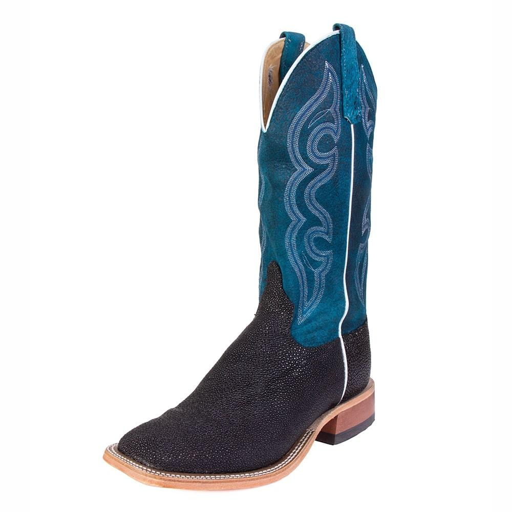125267ee194 Anderson Bean Mens Turquoise Stingray Boots
