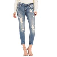 Miss Me Women's Mid-Rise Ankle Skinny