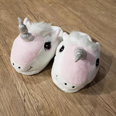 Kids Happy Unicorn Soft Slippers