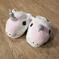 Kids Happy Unicorn Soft Slippers
