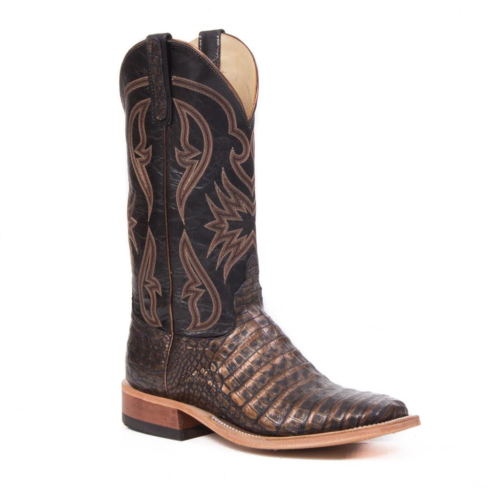 488e91836bf Anderson Bean Mens Exclusive Blackened Copper Caiman Belly