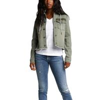 Silver Women's Regan Twill Hooded Jacket