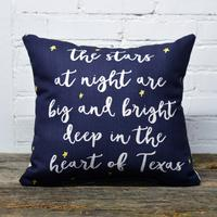 The Stars at Night Pillow