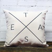 T-E-X-A-S Pillow