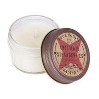 Chocolate Strawberry Soy Candle - 4oz