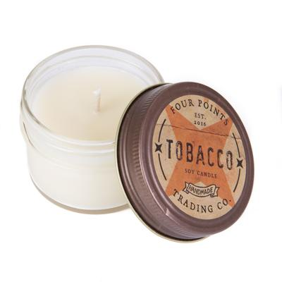 Tobacco Soy Candle - 4oz