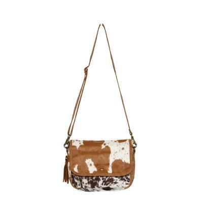 Myra Bag's Dazzling Hair- On Crossbody Bag