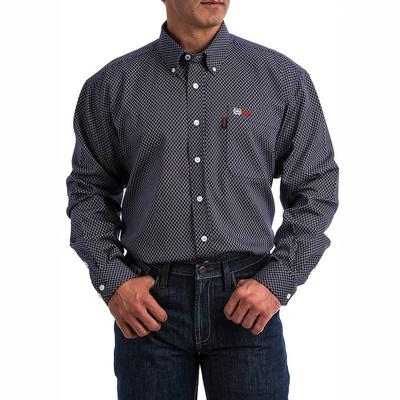 Cinch Men's Lightweight Navy FR Shirt