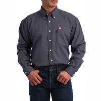 Cinch Men's Lightweight Navy FR Shirt