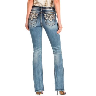 Miss Me Women's Come Together Bootcut Jean