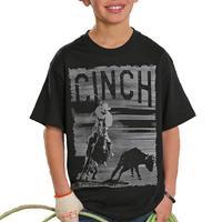Cinch Boy's Classic Team Roper T-Shirt