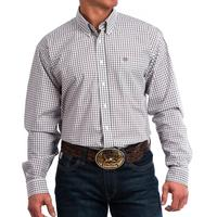 Cinch Men's Plaid Button Shirt