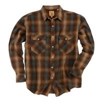 Resistol Double R Men's Flannel West Ombre Plaid
