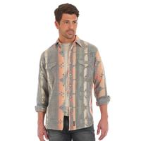Wrangler Men's Retro Jacquard Checotah Shirt
