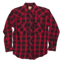 Resistol Double R Men's Flannel Pintail Ombre Plaid Shirt