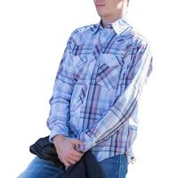 Resistol Double R Men's Sutcliffe Plaid Snap Shirt