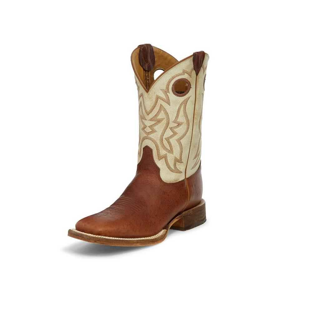 8d29bac33a6 Justin Men's Caddo Cognac Damiana Boot