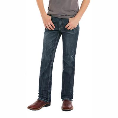 Rock & Roll Denim Boy's Reflex Revolver Raised Jeans