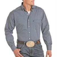 Panhandle Men's Stretch Printed Tuf Cooper Shirt