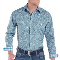 Panhandle Men's Lavaca Paisley Shirt