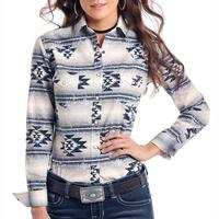 Panhandle Women's Wasatch Aztec Snap Shirt