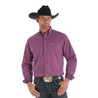 Wrangler Men's 20X Purple Competition Shirt