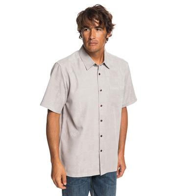 Quiksilver Men's Waterman Kelpies Bay Shirt FLINTGREY