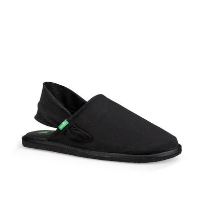 Sanuk Women's Black Yoga Sling Cruz Shoe