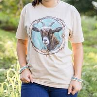 Crazy Train Women's Stumbling Goat Tee