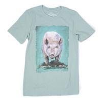 Crazy Train Women's Divine Swine Pig Tee