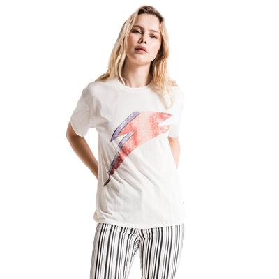 White Crow Women's Bowie Bolt Tee