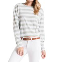 Z Supply Women's The Sienna Skimmer Crop Stripe Tee