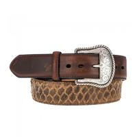 Roper Men's Sea Bass Print Belt